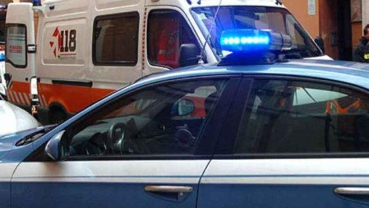 Agente si spara Andrea Marchiori