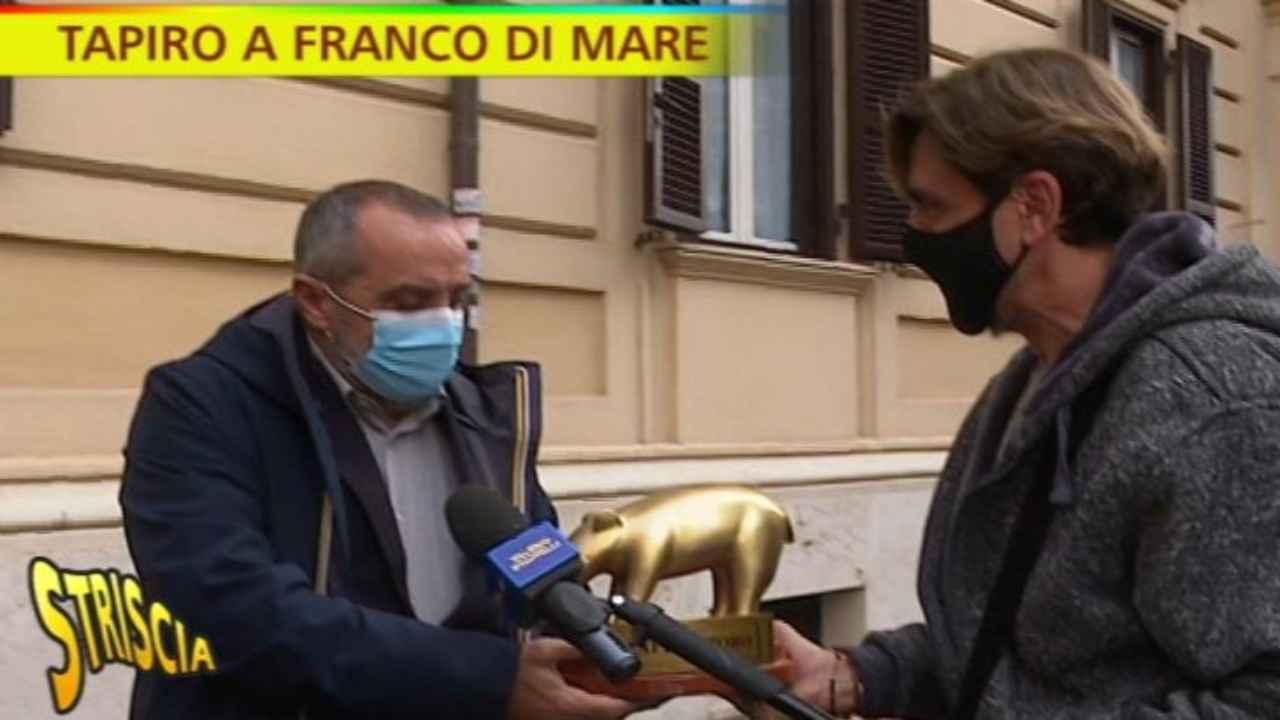 Franco Di Mare Striscia la Notizia