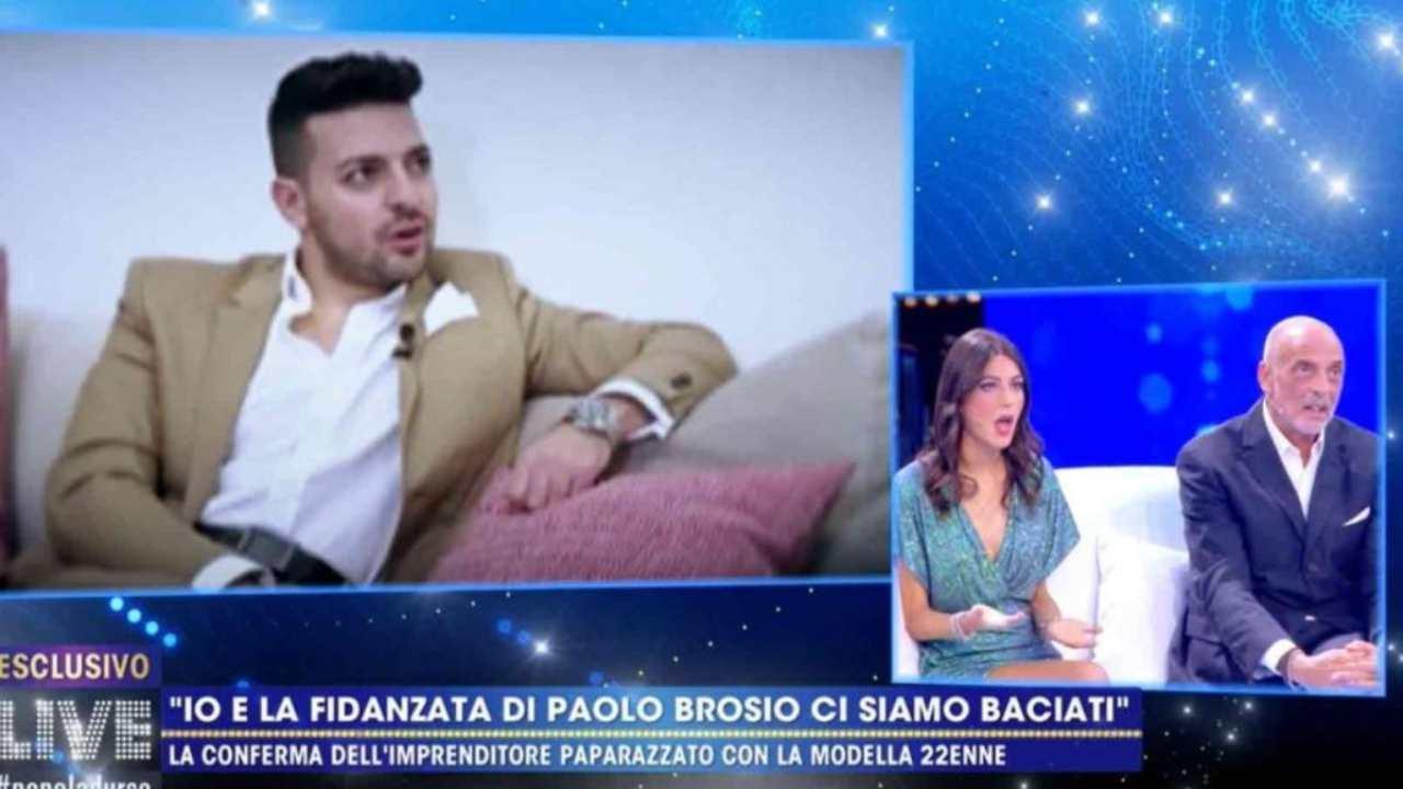 """Paolo Brosio, Diego Granese attacca: """"Maria Laura si stancherà di te"""""""