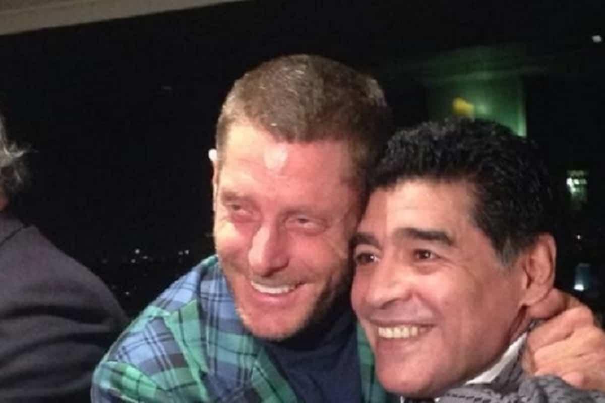 Lapo Elkann ricorda Maradona: