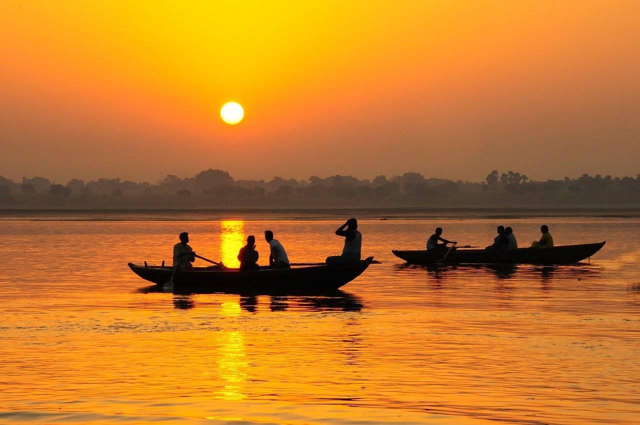 Gange, il fiume diventa una persona
