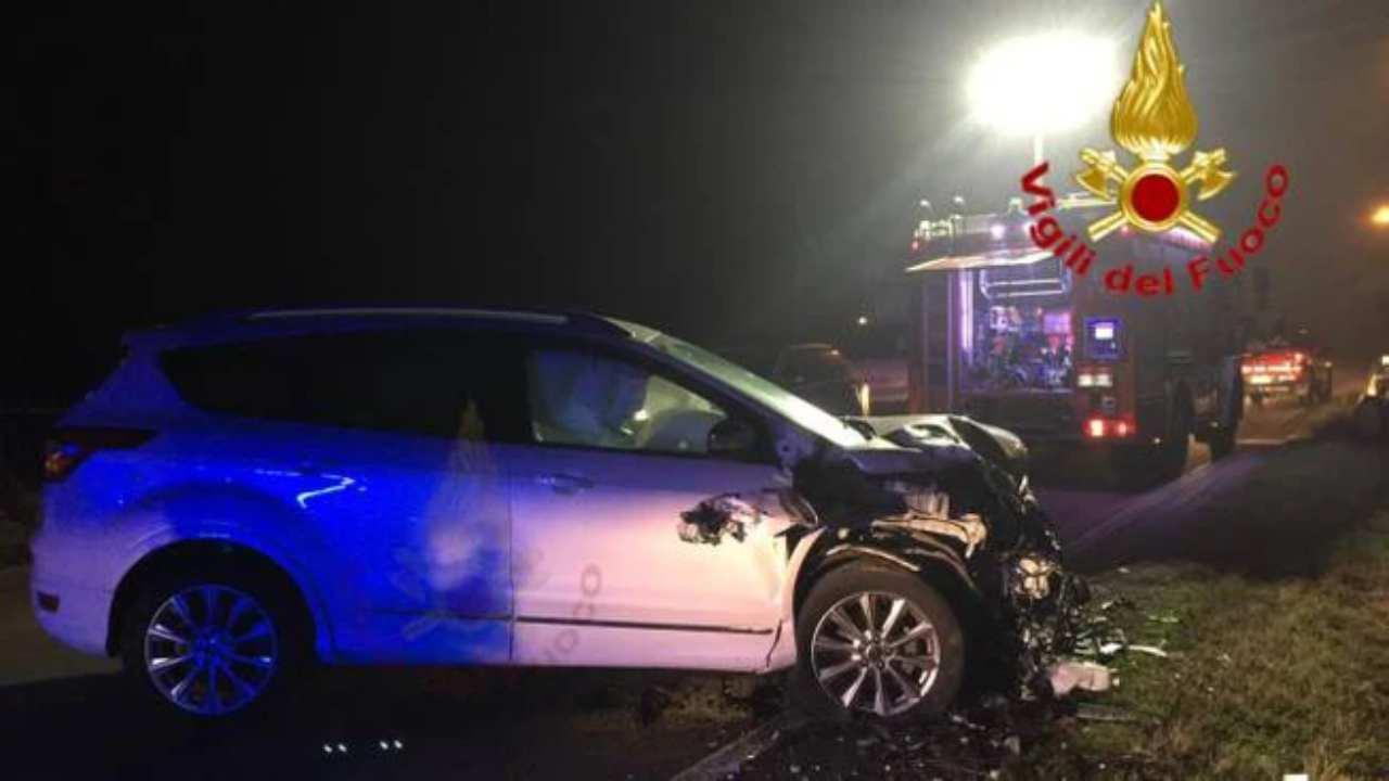 incidente stradale Battipaglia