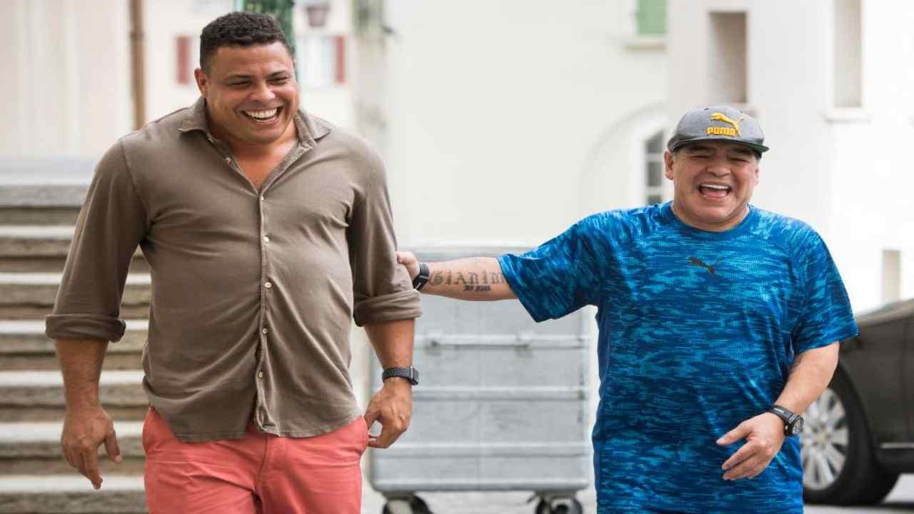 Maradona Ronaldo ricordo
