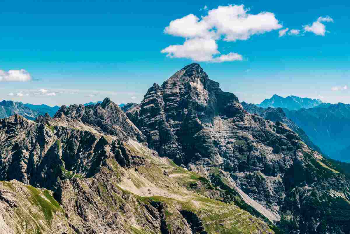 Hochvogel, la montagna che sta per crollare