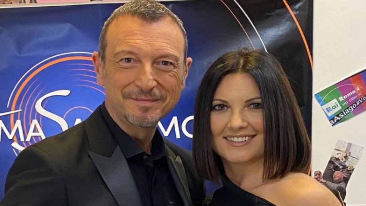 Amadeus e Giovanna Civitillo tradimento