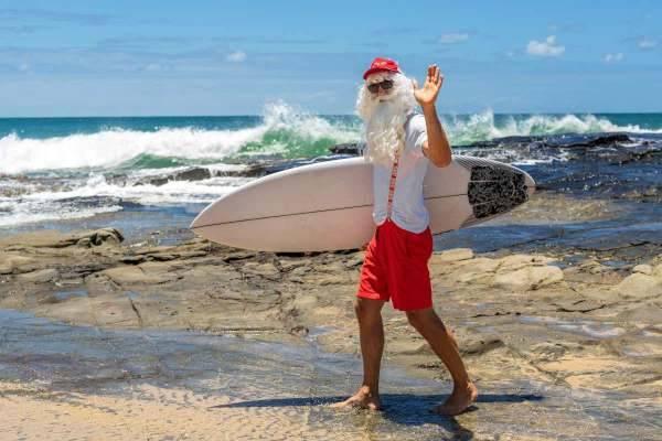 Babbo Natale in Australia Natale Australia come festeggia