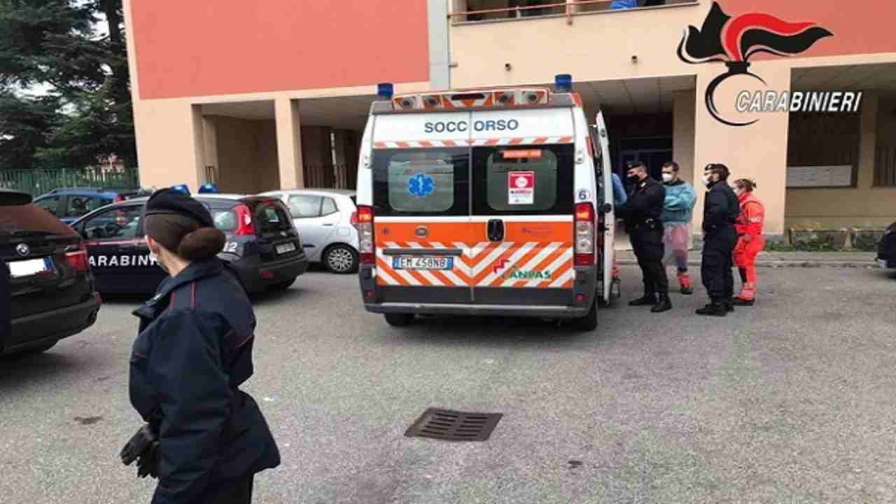 incidente in casa donna morta