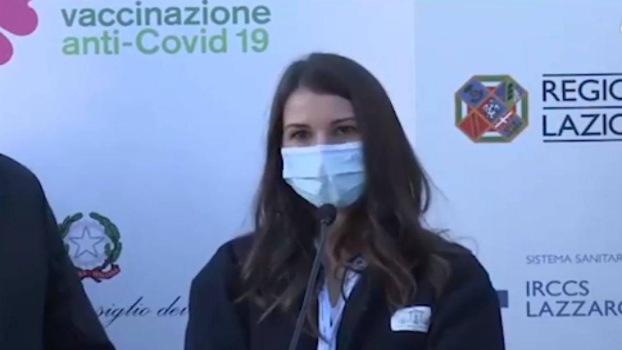 Claudia Alivernini vaccino Covid