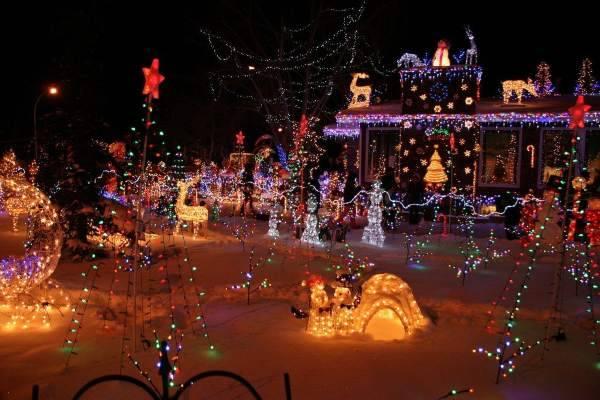 Decorazioni natalizie in America Natale tradizioni mondo