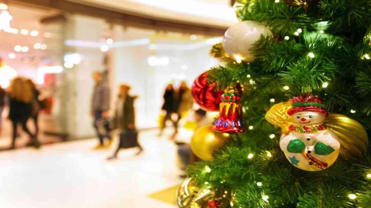 Dpcm Natale centri commerciali
