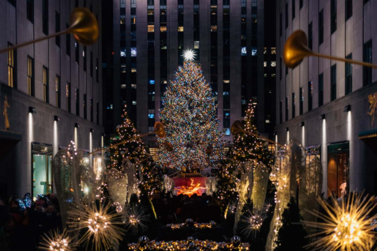 L'albero di Natale al Rockefeller Center Natale Stati Uniti tradizioni