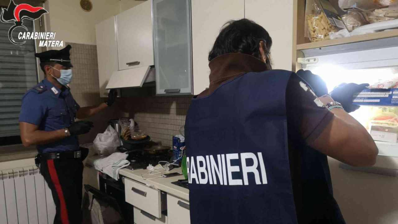 carabinieri Matera tentato omicidio