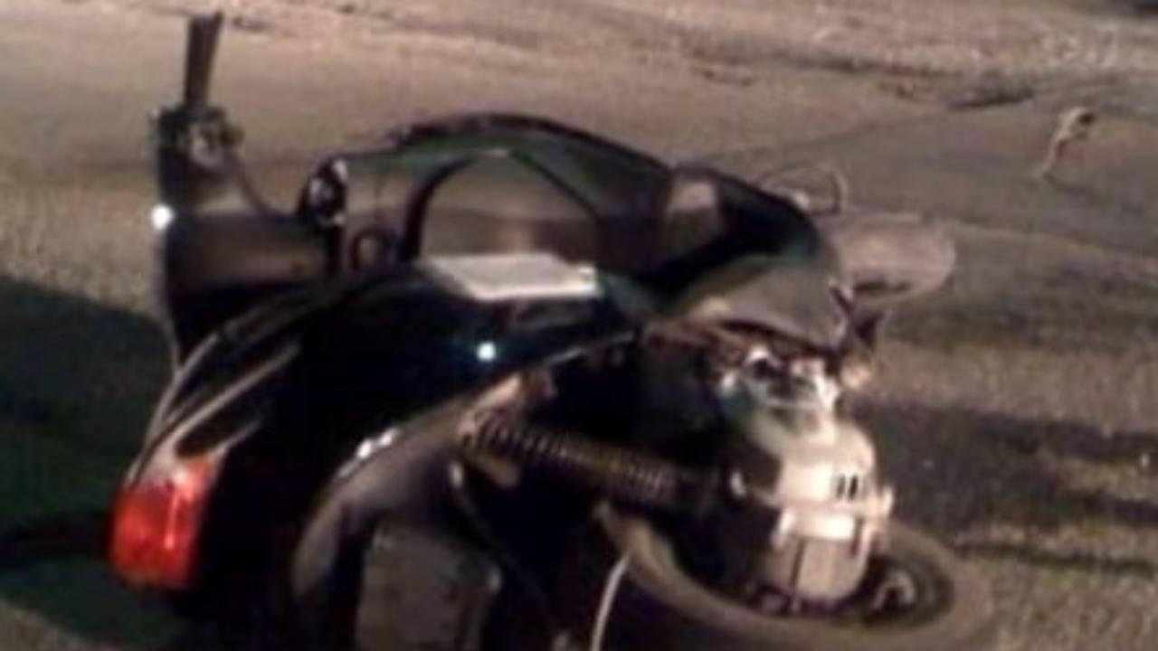 incidente in motorino morto