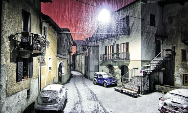previsioni meteo nevicate