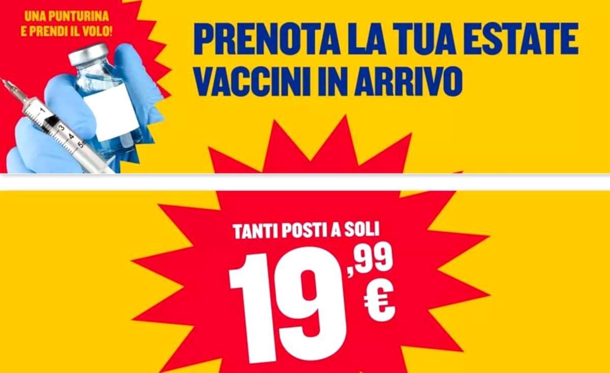 offerte voli ryanair vaccino