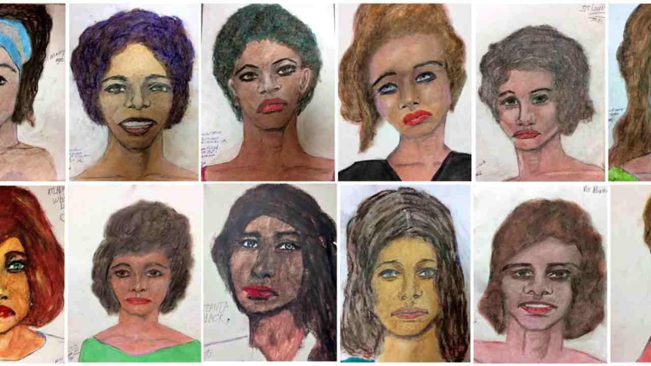 In 35 anni ha ucciso 93 donne, serial killer disegna i volti di ognuna – FOTO