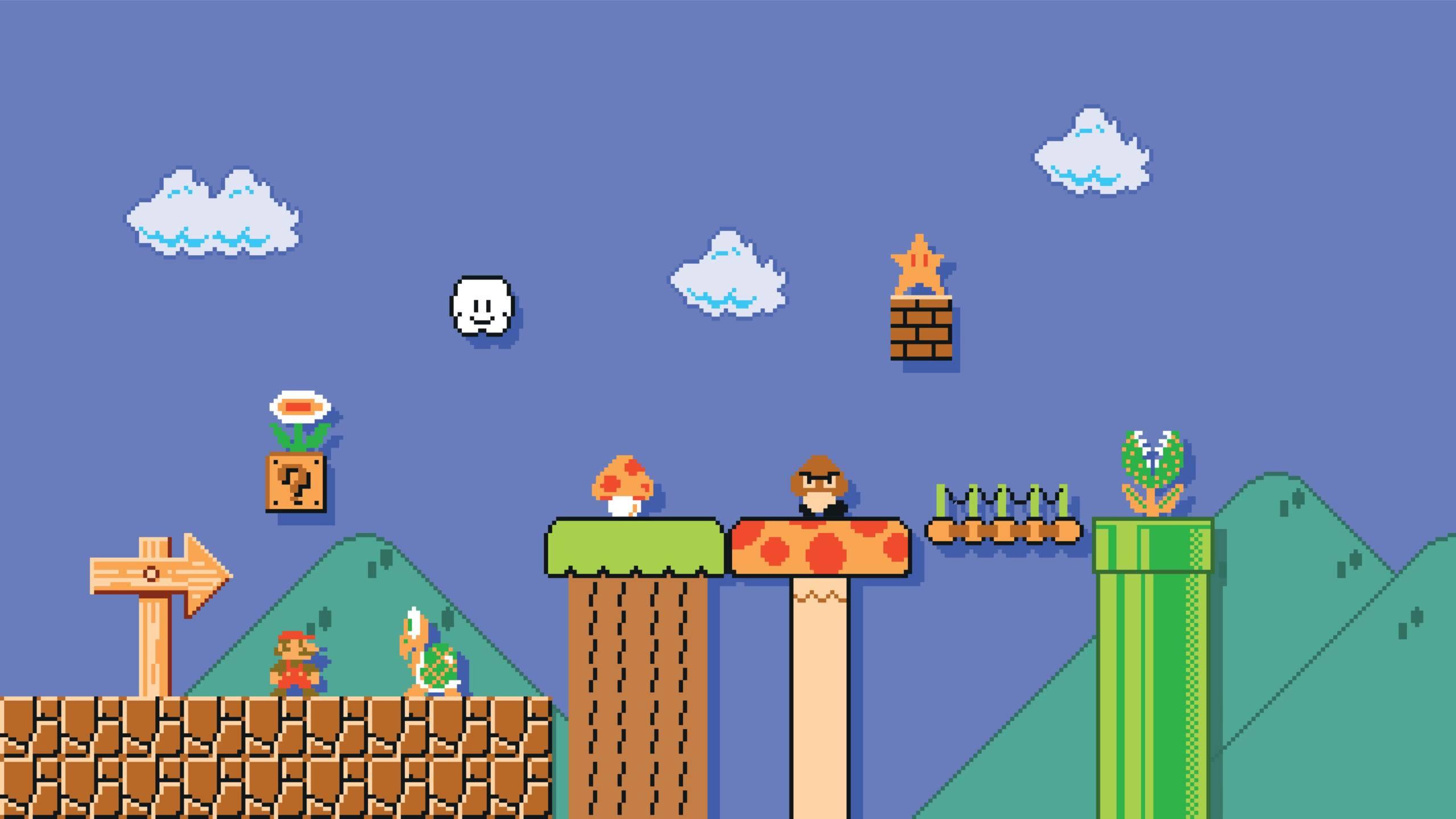 Il parco giochi di Super Mario a Osaka