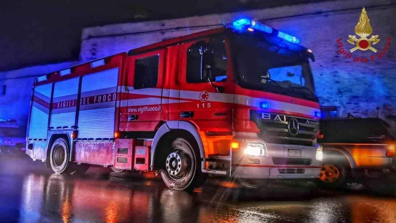 Marco Cordero di Montezemolo incendio villa