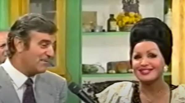 Walter Nones e Moira Orfei
