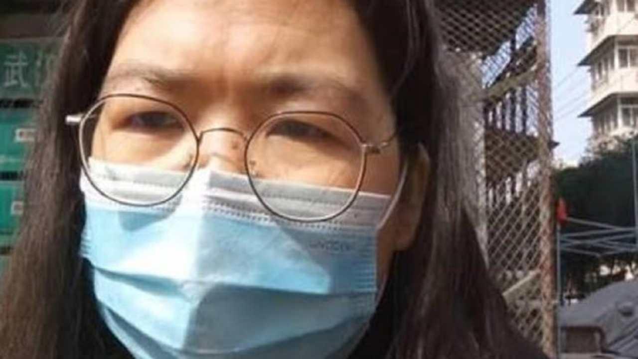 Zhang Zhan Cina Coronavirus