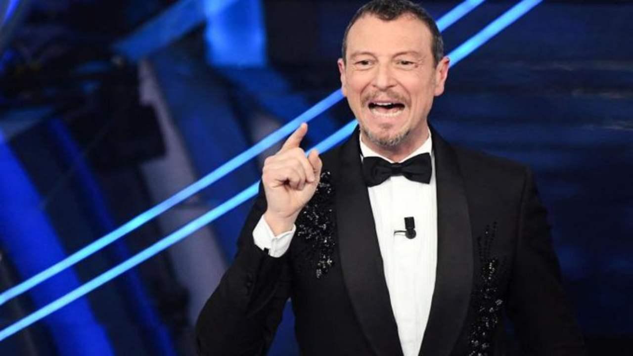 Sanremo 2021 Amadeus dimissioni