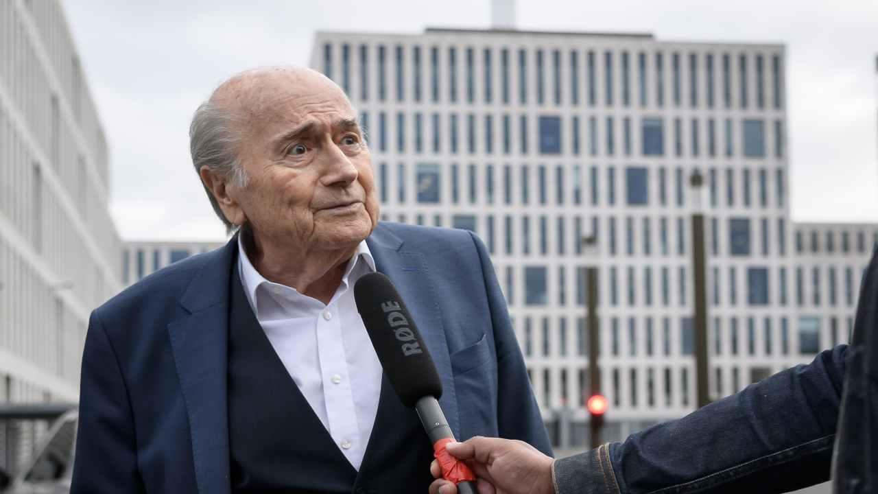 Blatter ricoverato ospedale