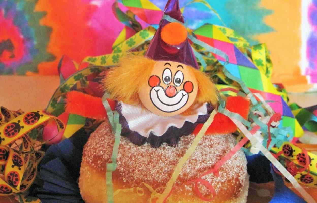I Bomboloni sono uno dei dolci tradizionali del Carnevale