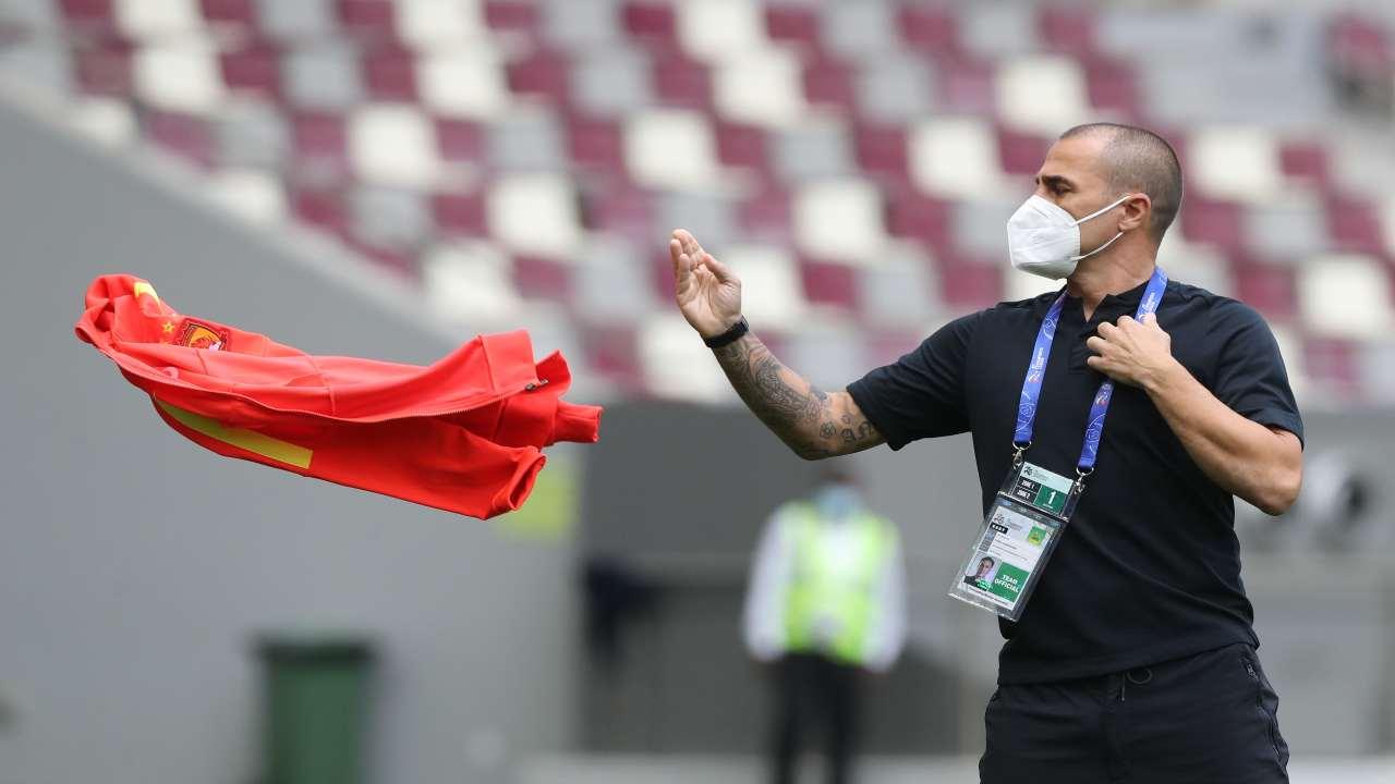Fabio Cannavaro, il Guangzhou lo lascia prigioniero in hotel nel Qatar