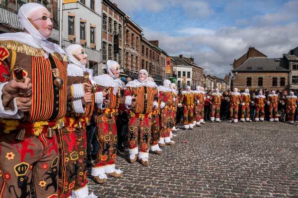 Carnevale di Binche carnevali famosi mondo
