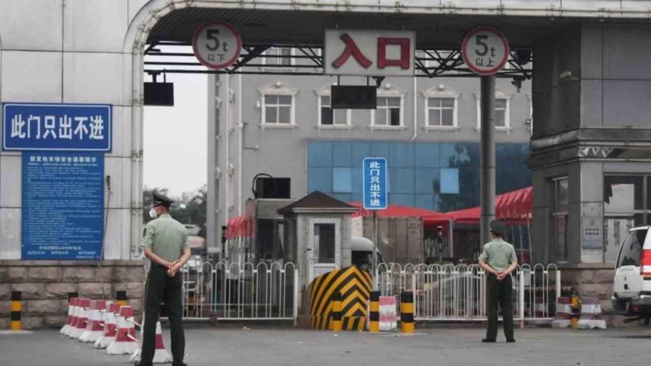 Cina lockdown Pechino