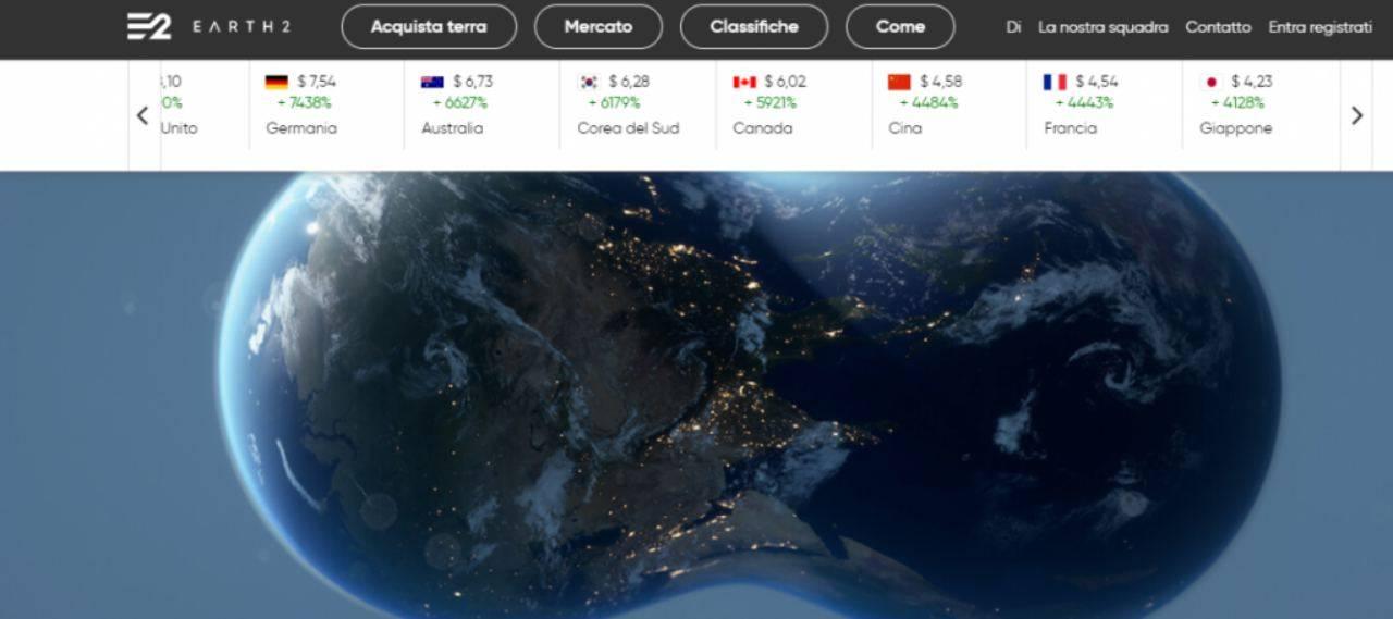 Earth 2, il gioco online promette grandi guadagni: cosa c'è di vero