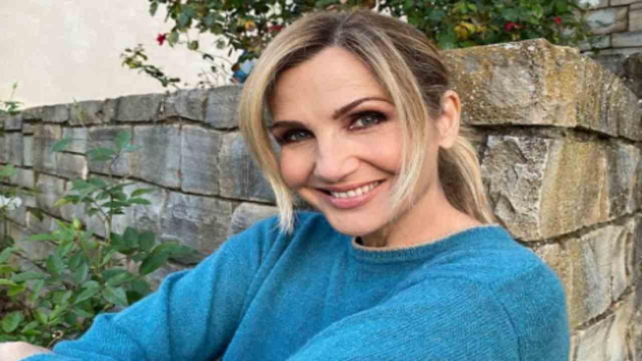 Lorella Cuccarini positiva