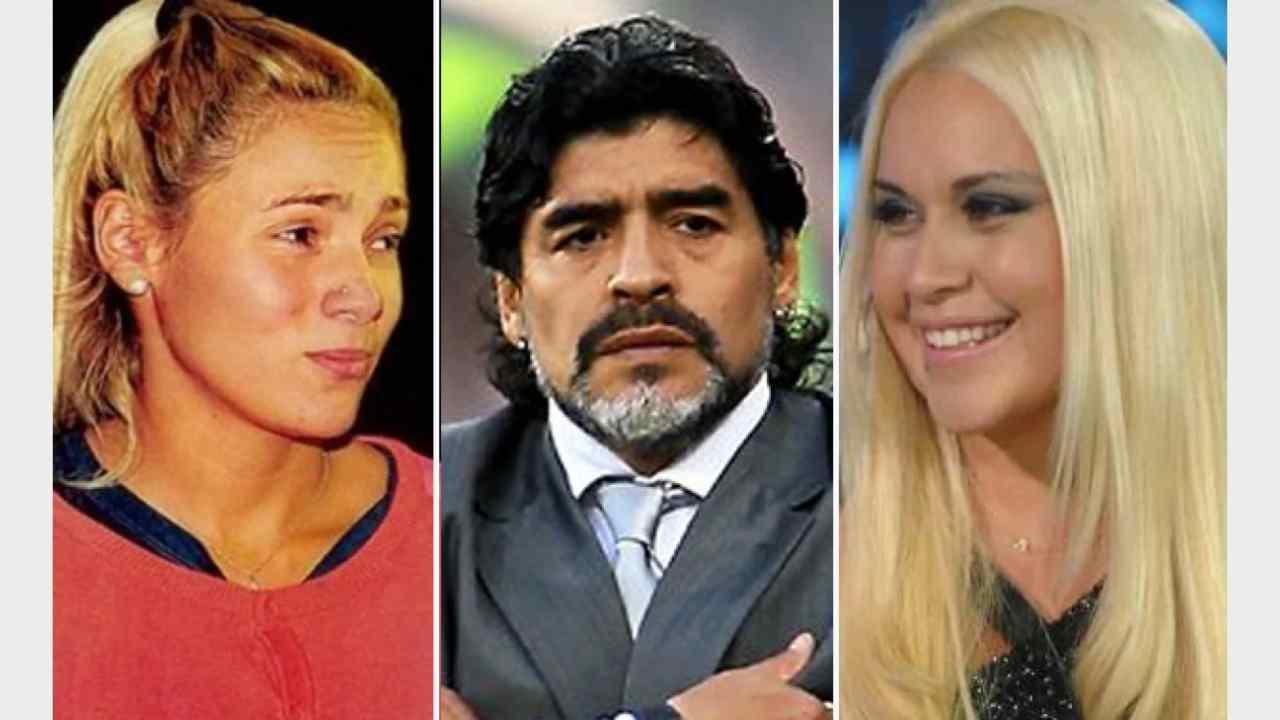 Maradona Rocio Oliva Veronica Ojeda