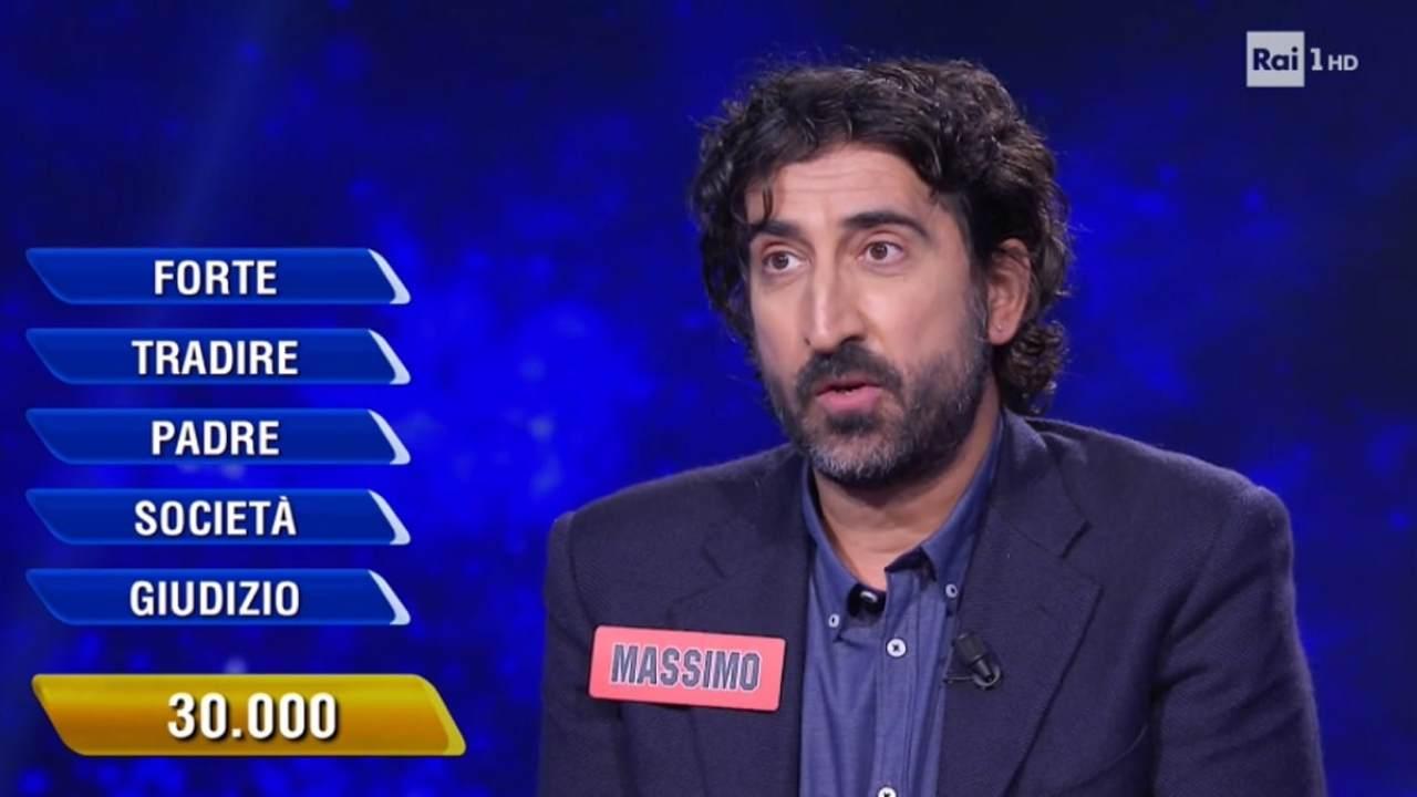 """Massimo Cannoletta e il momento drammatico con Insinna:""""l'ho guardato negli occhi"""""""