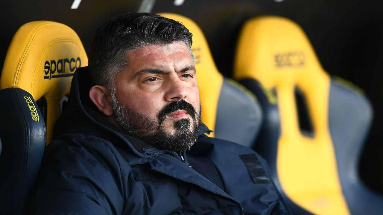Napoli-Parma Gattuso interviste
