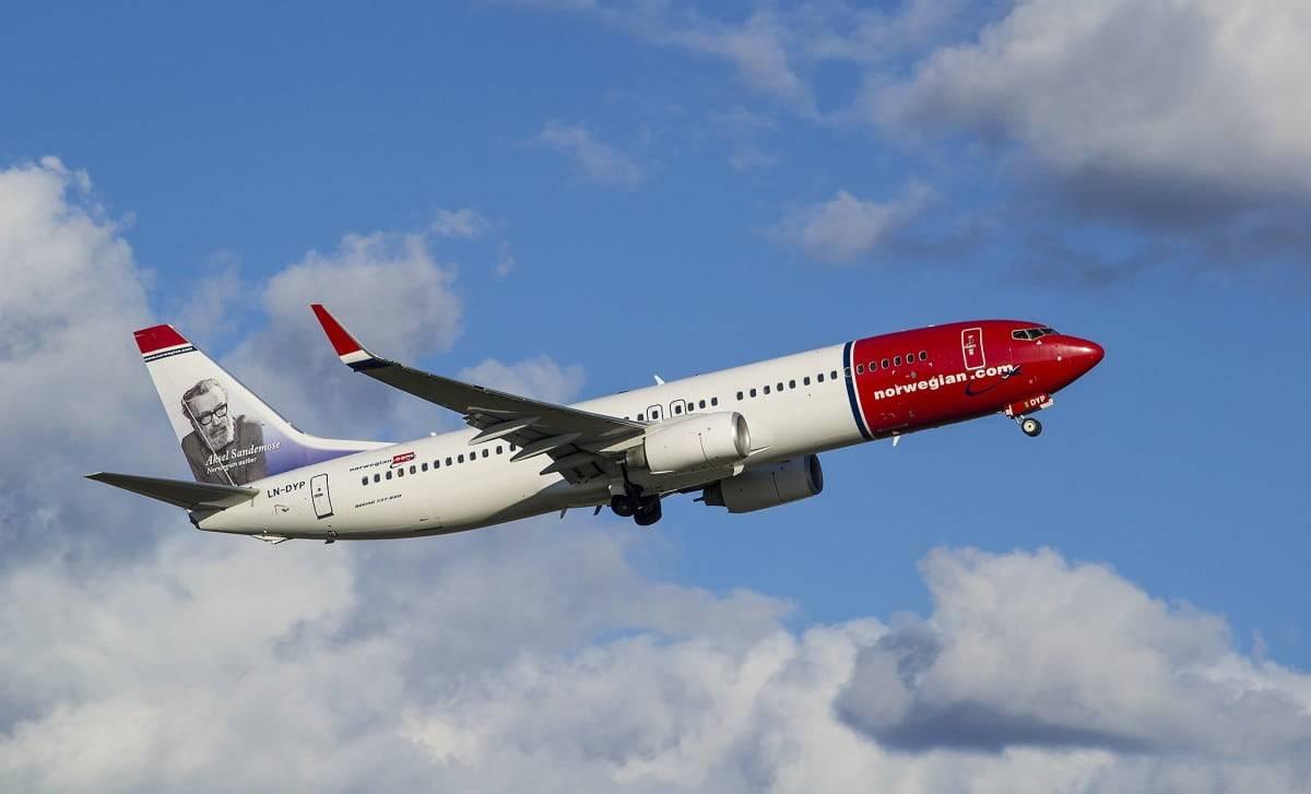norwegian air voli lungo raggio