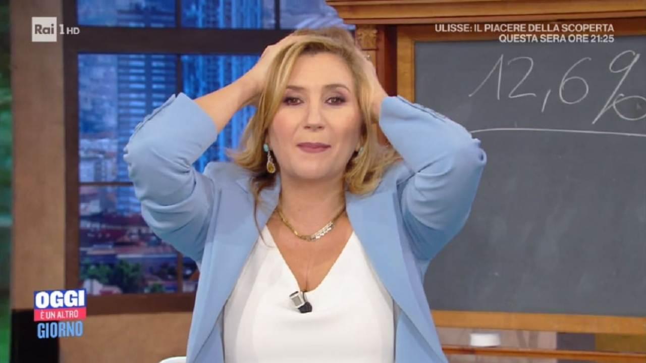 Oggi è un altro giorno non va in onda, l'annuncio di Serena Bortone