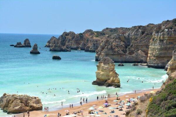 le spiagge più belle di Algarve: Praia Dona Ana