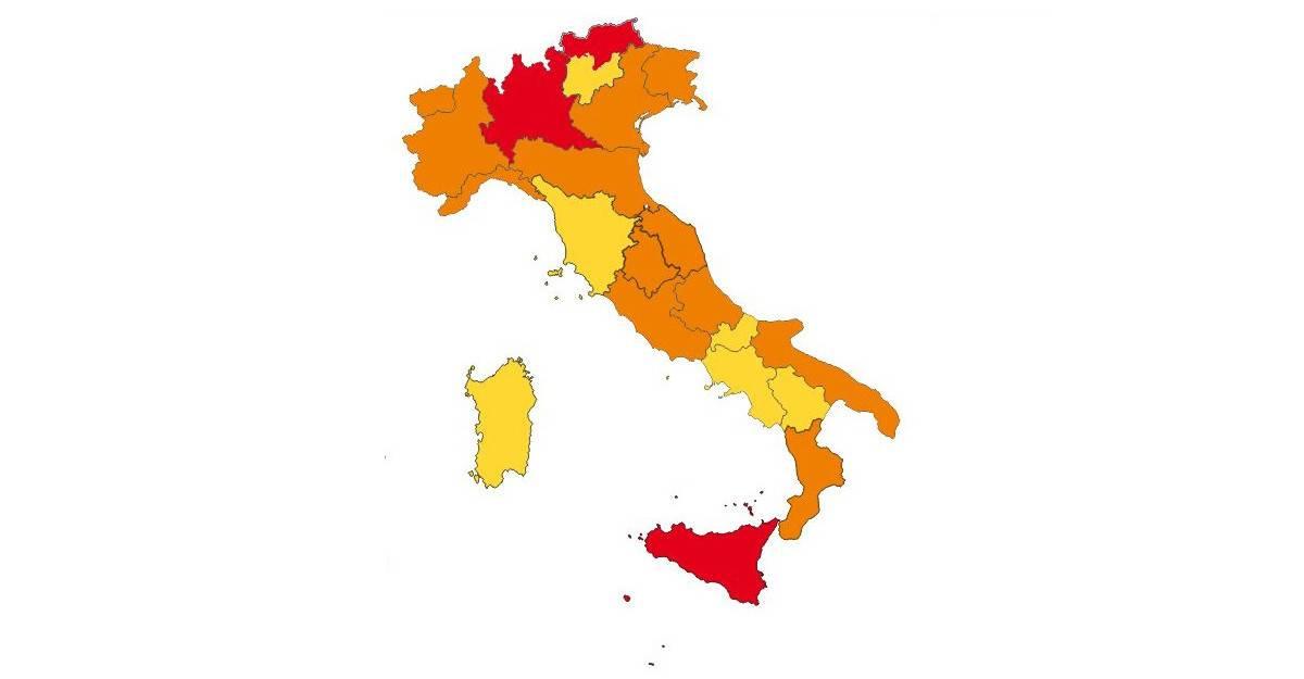 regioni rosse seconde case