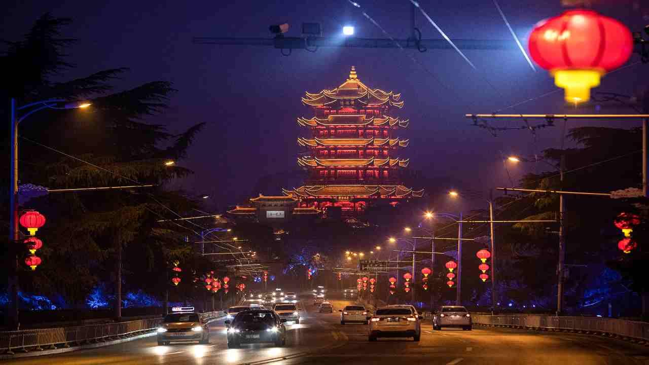 Wuhan oggi lockdown