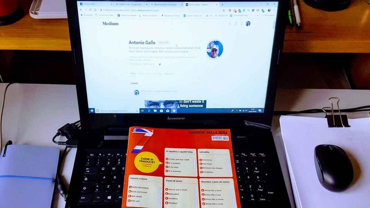 webcam professore rapporto