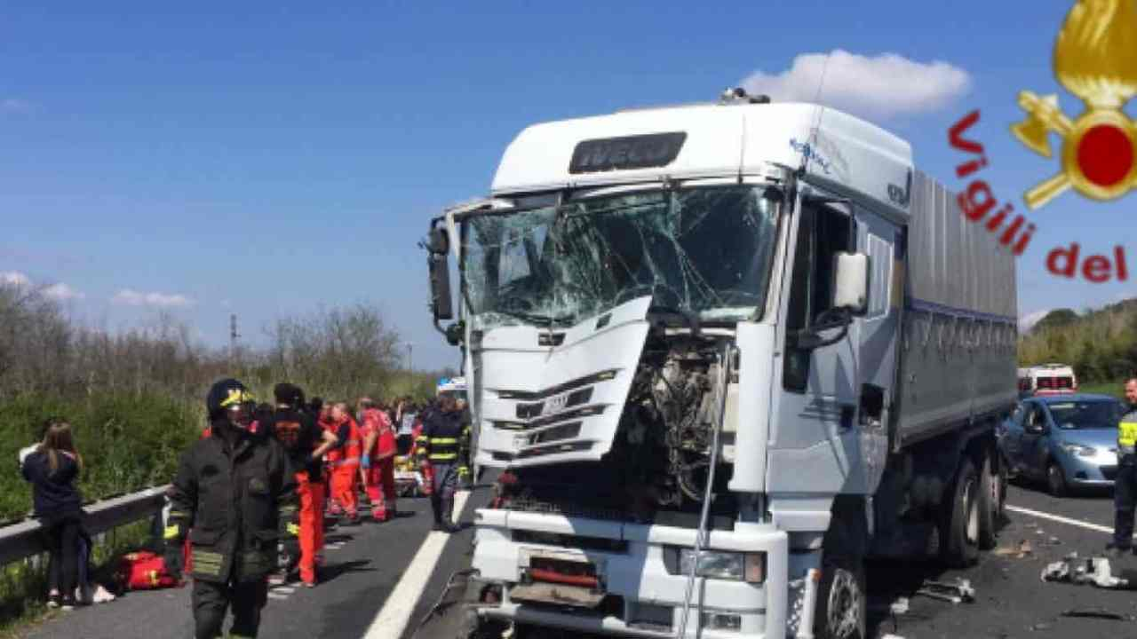 incidente Brescia morto