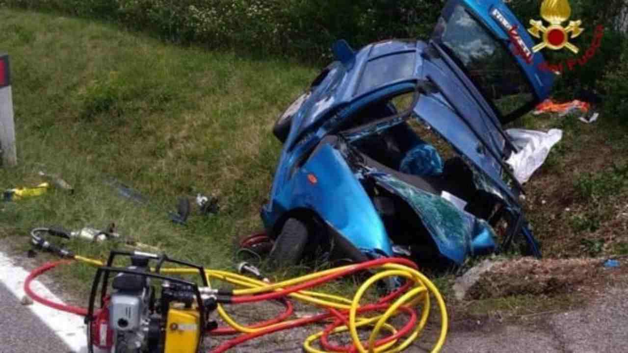 incidente stradale Udine