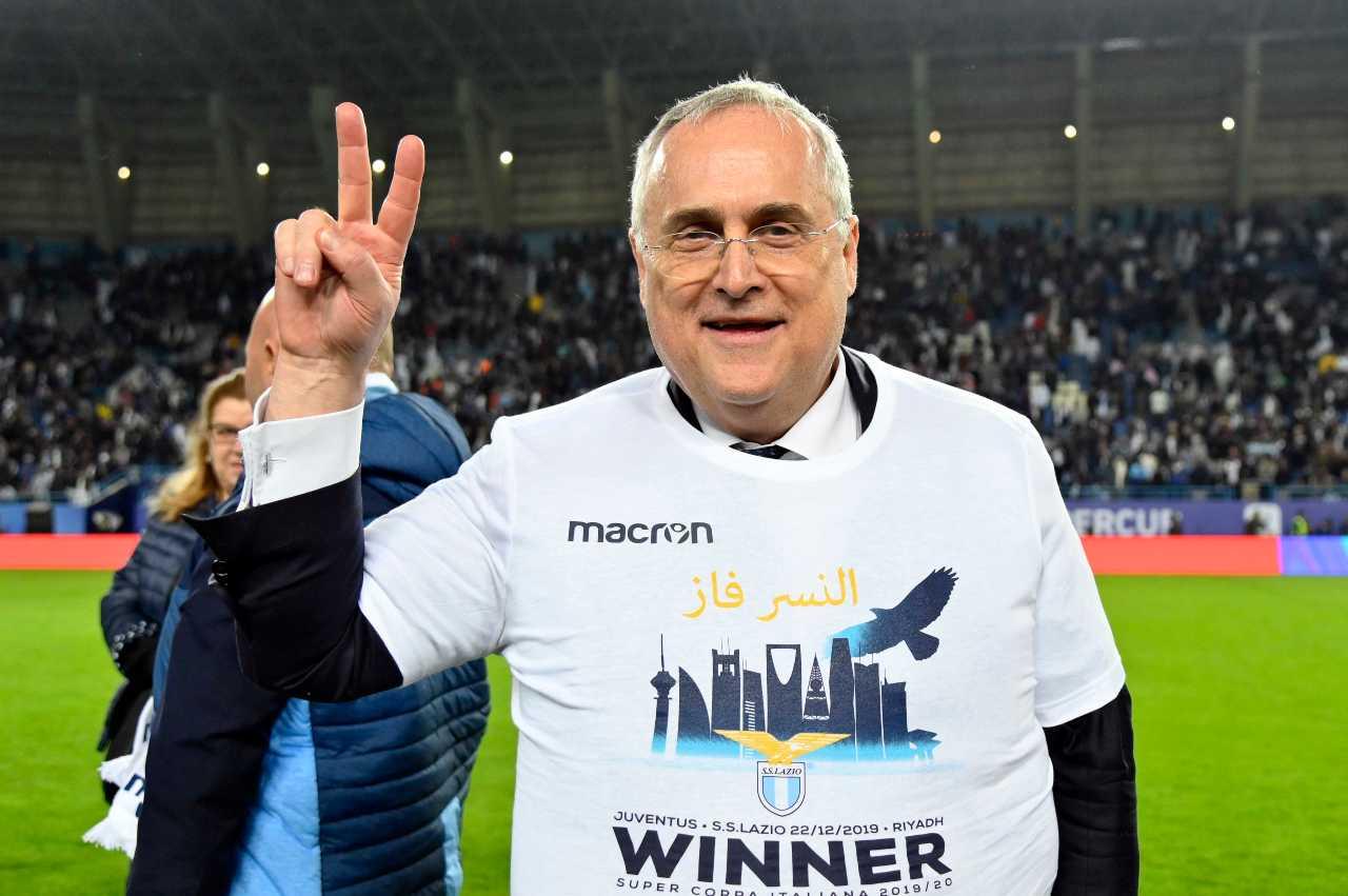 Lotito prestiti Lazio