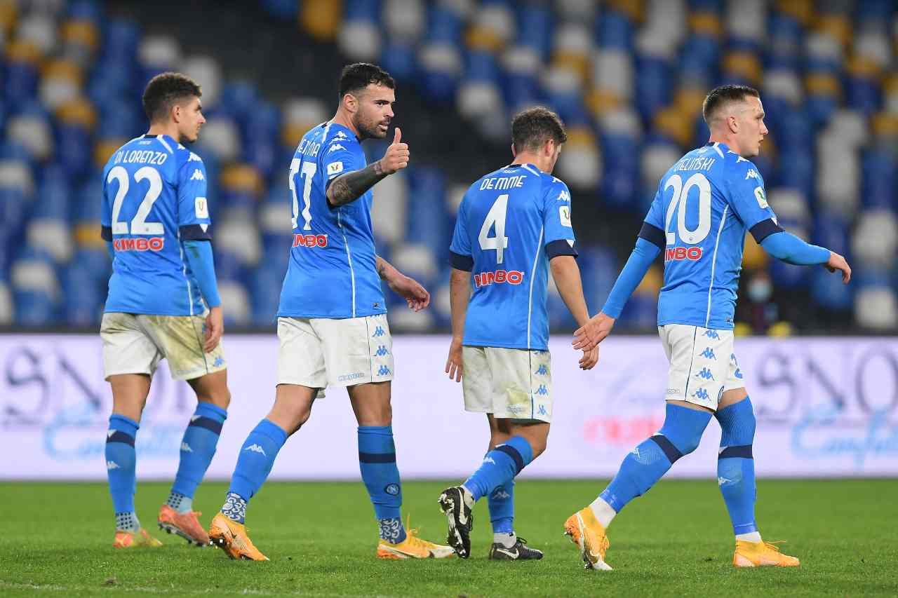 Napoli Fiorentina positivi