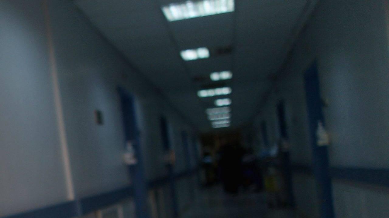 ospedale vuoto negazionista