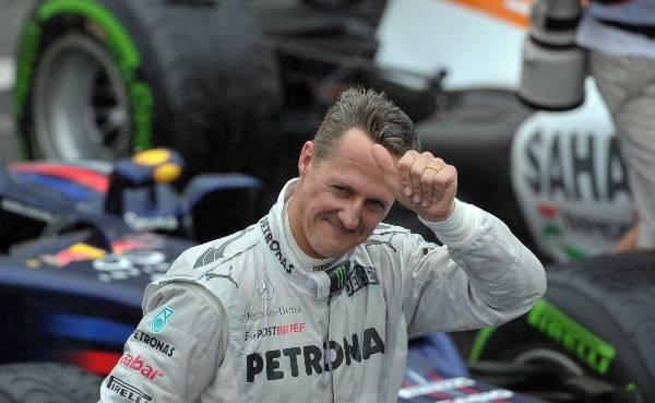 Schumacher condizioni