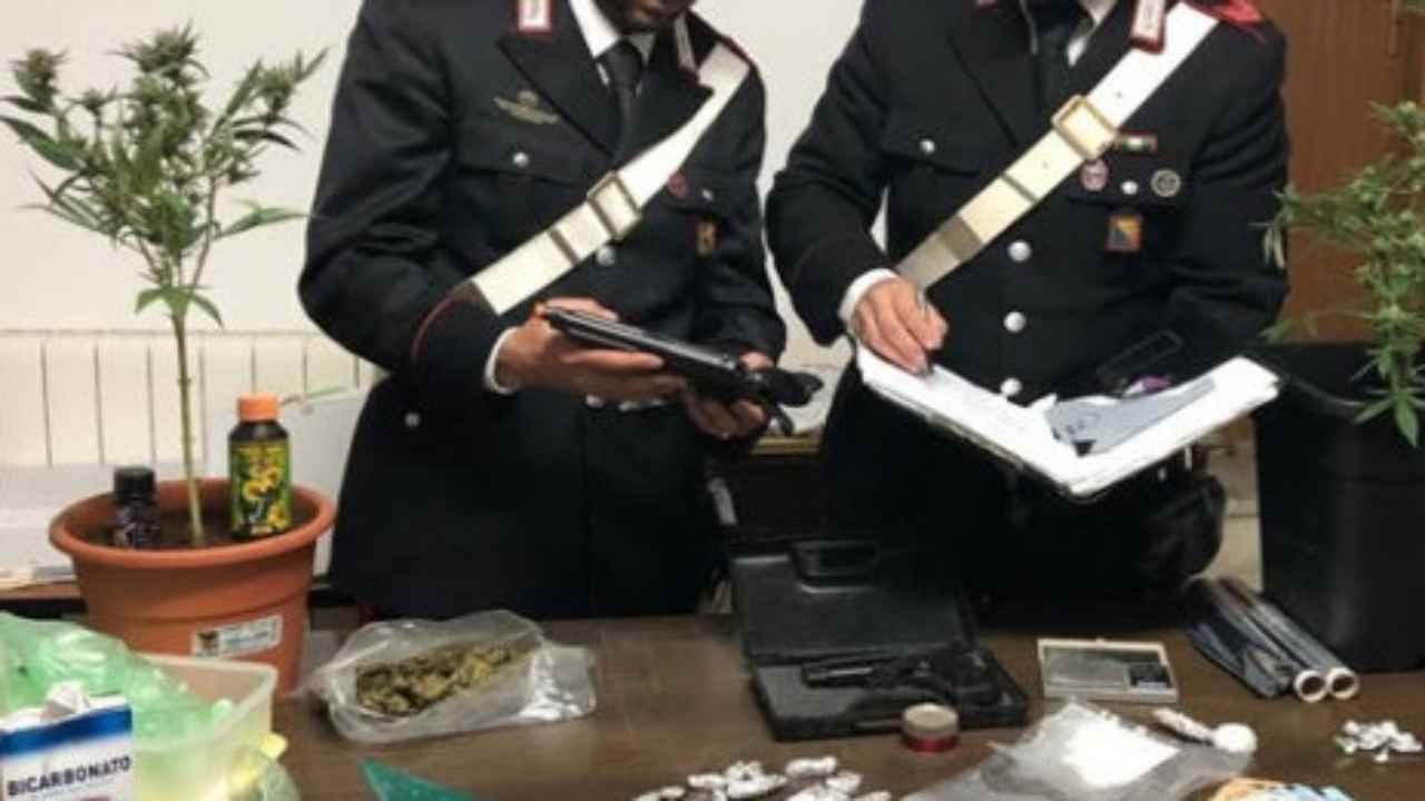 spaccio di droga carabinieri