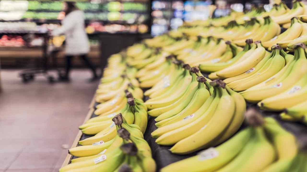 spaccio di droga banane