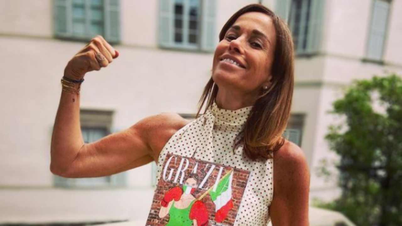 Cristina Parodi figli chi sono Foto dal web